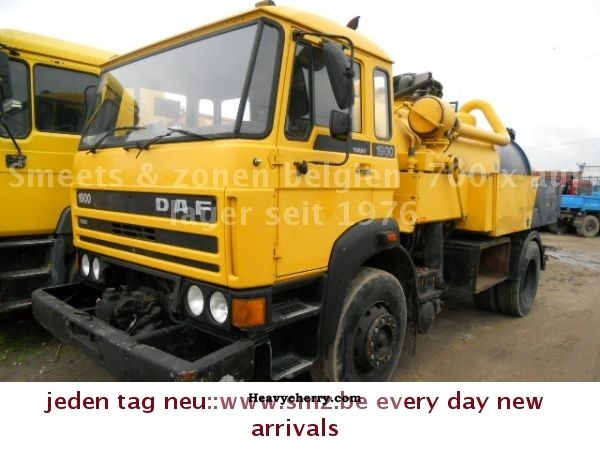1990 DAF  1900 intake Spuhl top condition Truck over 7.5t Vacuum and pressure vehicle photo