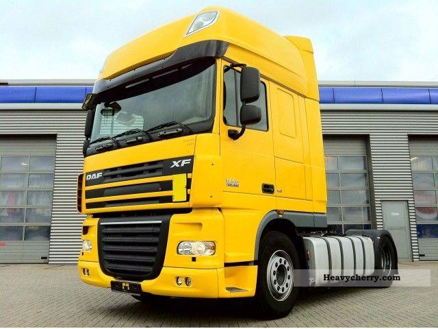 2008 DAF  105 460 Super Space Euro5 Semi-trailer truck Standard tractor/trailer unit photo