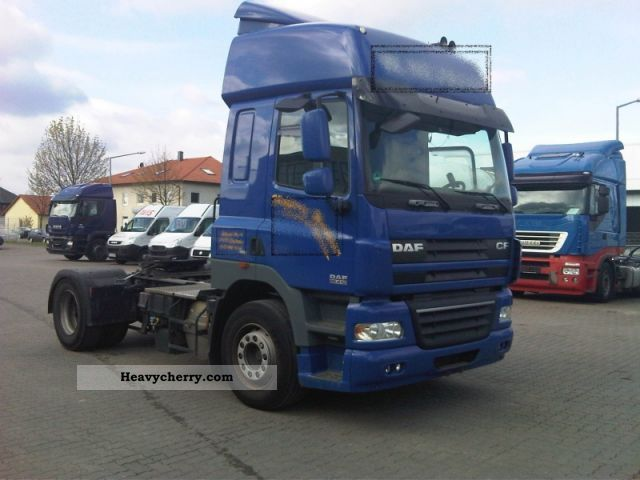 Daf Cf 85 410 With A High Roof Intarder Air 2008