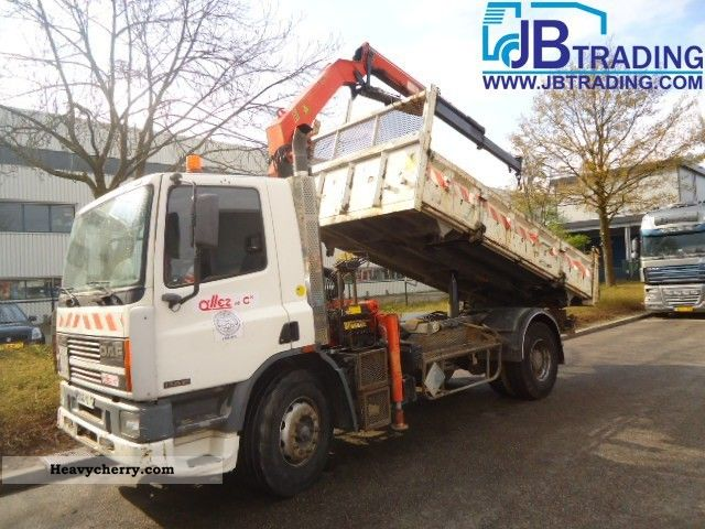 1996 DAF  75 270 Ati Truck over 7.5t Tipper photo