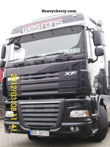 2009 DAF  105 410, EURO 5, Sapce Cap Semi-trailer truck Standard tractor/trailer unit photo