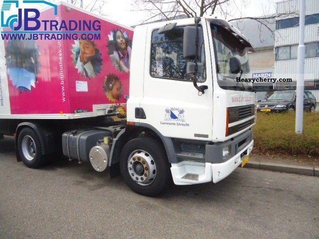 1997 DAF  75 240 Ati originmal 90,000 km! Semi-trailer truck Standard tractor/trailer unit photo