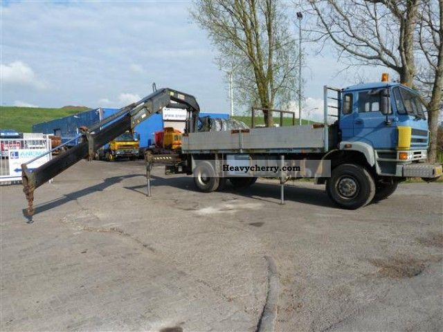 1991 DAF  2700 4X4 Truck over 7.5t Stake body photo