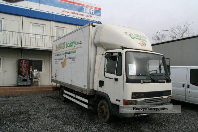 Daf Fa 45 150 1998 Box Truck Photo And Specs
