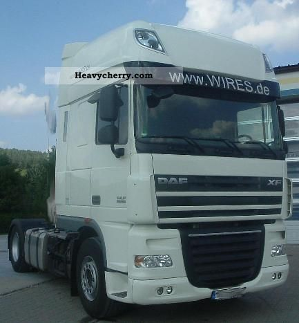 2010 DAF  460 SSC AS-Tronic Semi-trailer truck Standard tractor/trailer unit photo
