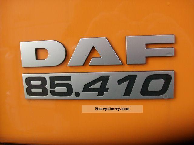 Daf Fan Cf 85 410 Space Cab Meiller Dispensers 2011 Roll