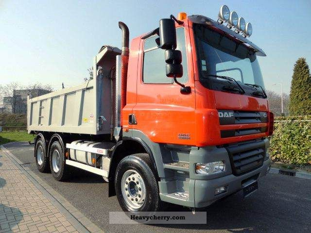 2006 DAF  CF 85.380 6x4 Truck over 7.5t Tipper photo