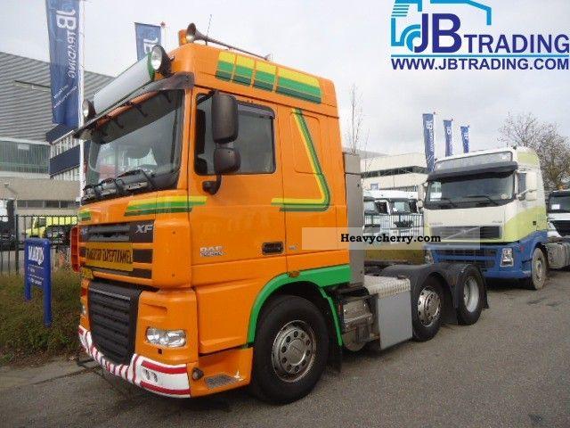 2007 DAF  105 XF 460 6x2 manual retarder Euro5 Semi-trailer truck Standard tractor/trailer unit photo