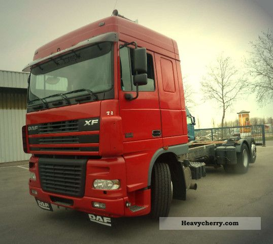 2003 DAF  XF95.480, 6x2, Euro 3, Cap Space, Truck over 7.5t Chassis photo