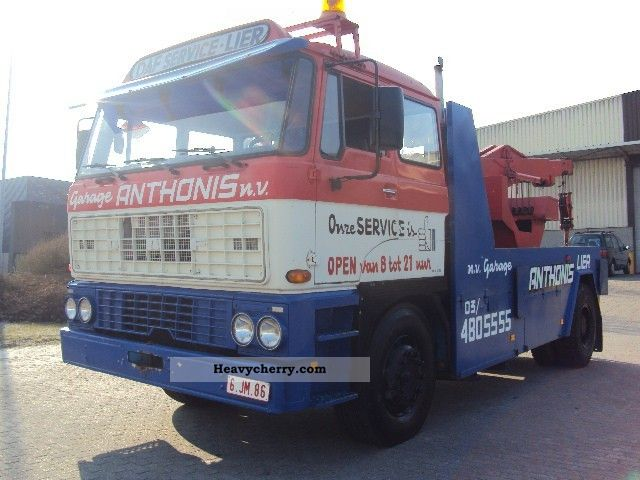 1975 DAF  ATI 2800 Truck over 7.5t Breakdown truck photo