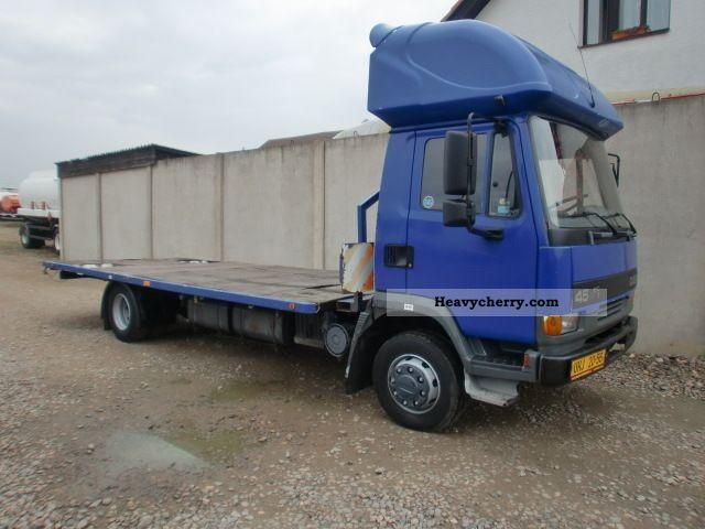 2000 DAF  FA 45.210 B11 (id: 5160) Truck over 7.5t Stake body photo