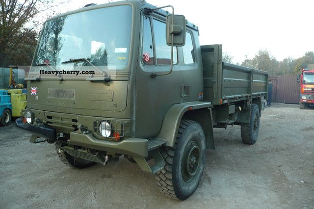 1991 DAF  Leyland 45/150 Truck over 7.5t Stake body photo
