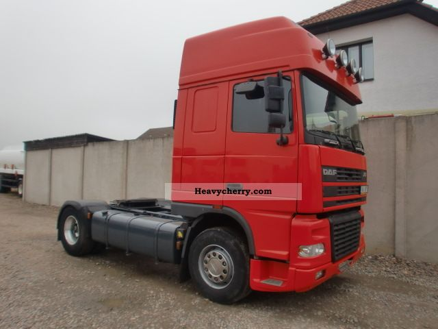 2003 DAF  FT 95 XF.430SSC (id: 7811) Semi-trailer truck Standard tractor/trailer unit photo
