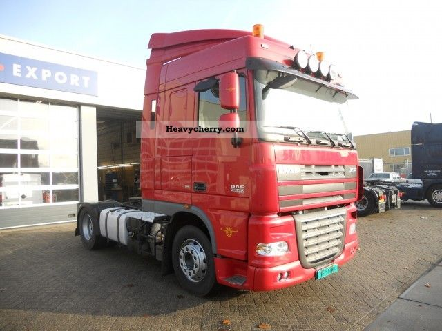 2008 DAF  105 XF 410 SC Euro5 Semi-trailer truck Standard tractor/trailer unit photo