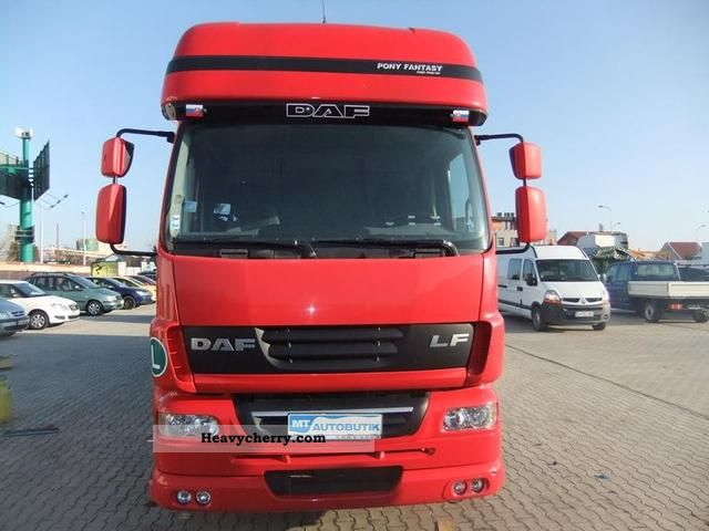 2006 DAF  LF 55.250 EURO 4 10 860 KG payload Truck over 7.5t Box photo