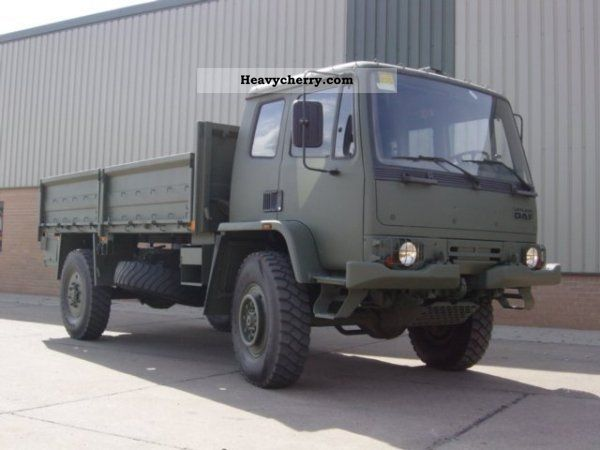 1991 DAF  Leyland T244 Truck over 7.5t Stake body photo