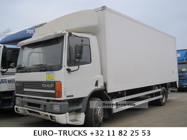 1996 DAF  65 210 ATI Truck over 7.5t Box photo