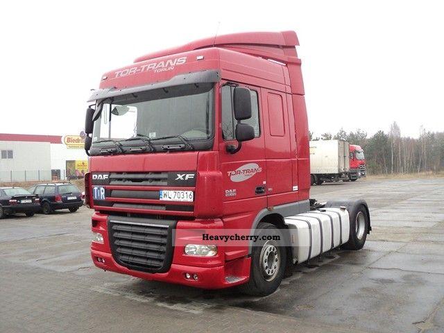 2008 DAF  105 XF EURO5 Semi-trailer truck Standard tractor/trailer unit photo