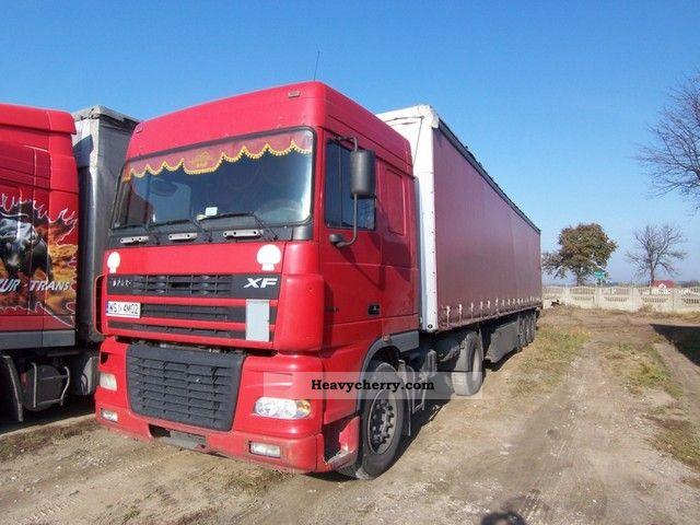 2005 DAF  430 Semi-trailer truck Standard tractor/trailer unit photo