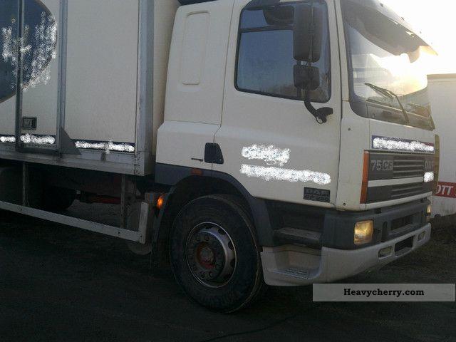 2001 DAF  CF 75 Truck over 7.5t Box photo