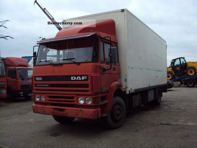 1989 DAF  1900 TURBO INTERCOOLER COOLING Truck over 7.5t Box photo
