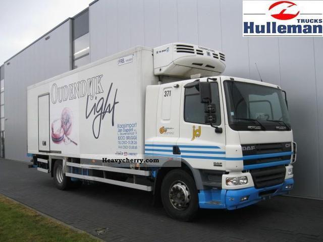 2004 DAF  CF75.250 SLEEPINGCAB 4X2 EURO 3 Truck over 7.5t Stake body photo