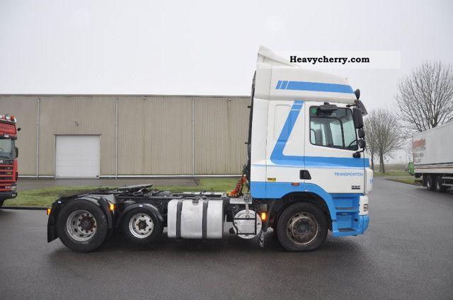 2004 DAF  cf 85 Semi-trailer truck Heavy load photo