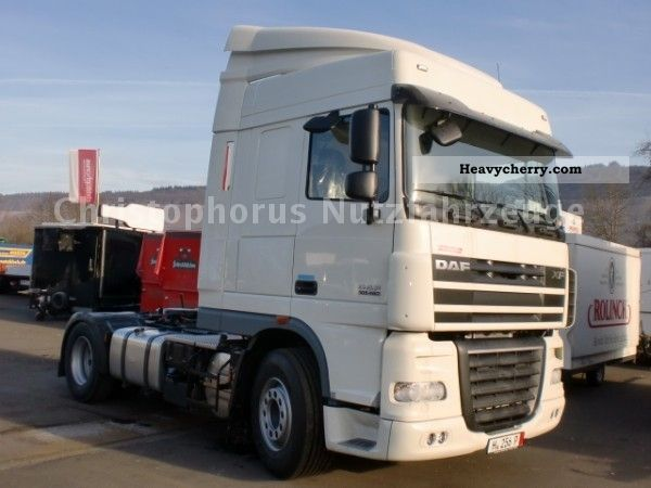 2011 DAF  105 XF 460 from 1.140, - € / month Semi-trailer truck Standard tractor/trailer unit photo