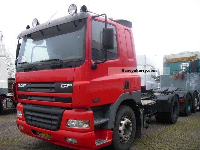 2004 DAF  85 cf 380 Semi-trailer truck Standard tractor/trailer unit photo