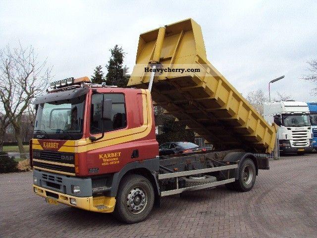 2000 DAF  CF 85 430 4x2 steel suspension Truck over 7.5t Tipper photo
