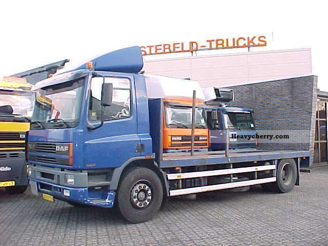 1998 DAF  FA75.240 Truck over 7.5t Stake body photo