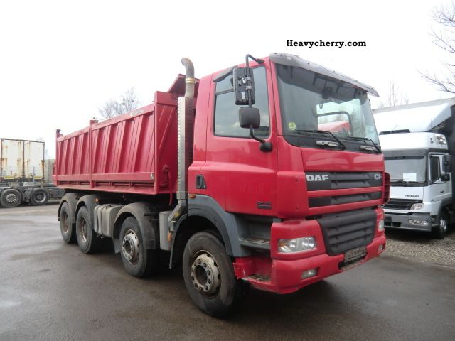 2006 DAF  CF 85.430 8x4 Dreiseitenkipper Truck over 7.5t Tipper photo