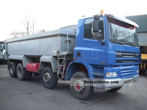 2006 DAF  CF85.340 tipper 8x4 RHD Truck over 7.5t Tipper photo