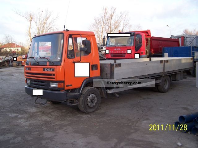 1992 DAF  4516 Turbo Truck over 7.5t Stake body photo