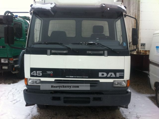 2000 DAF  45 160 Truck over 7.5t Stake body photo