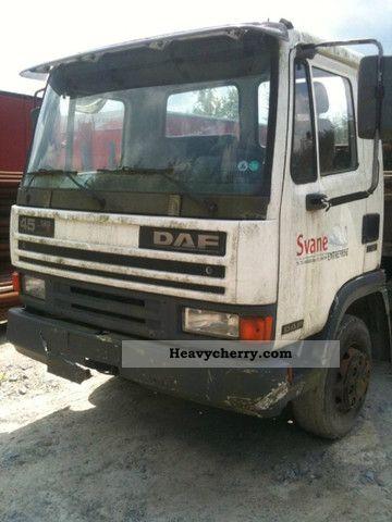 1995 DAF  45 160 TI Truck over 7.5t Stake body photo