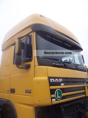 2006 DAF  Kabina 105 Super Space Cab Semi-trailer truck Standard tractor/trailer unit photo
