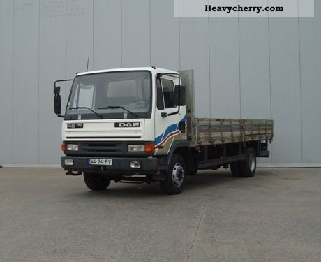 1995 DAF  45 160 Truck over 7.5t Stake body photo