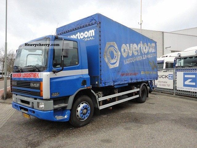 1998 DAF  FA65-210CF WITH OPEN BOX (EURO 2 / MANUAL GEARBO Truck over 7.5t Stake body photo