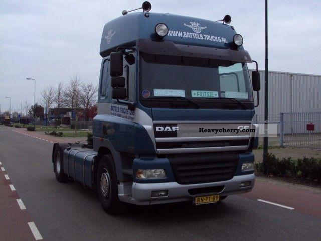 2003 DAF  85 430 € 3 Semi-trailer truck Standard tractor/trailer unit photo