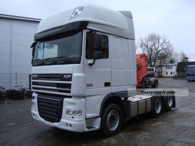 2008 DAF  XF105.510 6x2 SSC ADR AS-TRONIC + INTARDER Semi-trailer truck Heavy load photo