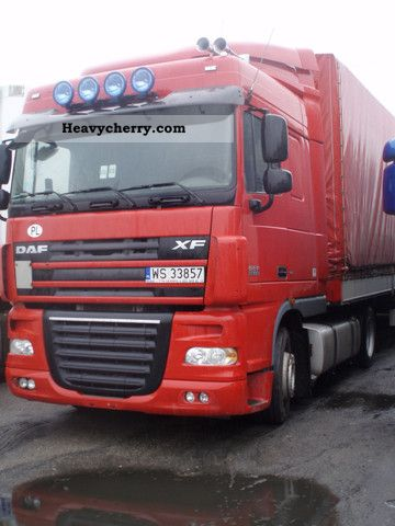 2007 DAF  28.800 EUR, SPRZEDAM COMPANY Transportowa Semi-trailer truck Standard tractor/trailer unit photo