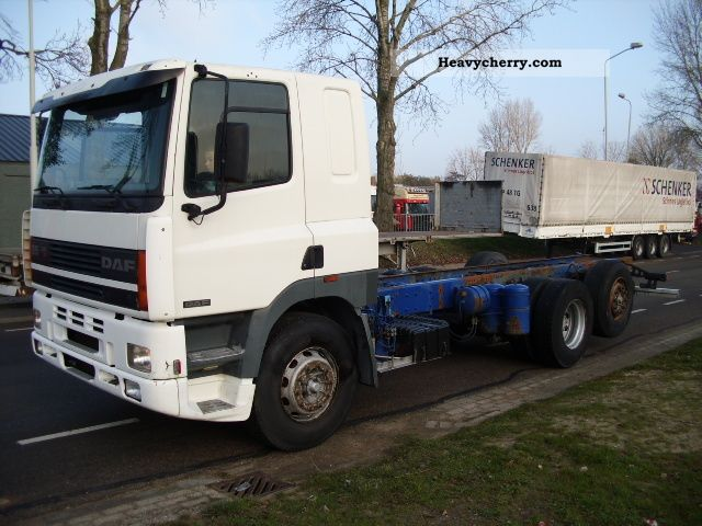 1997 DAF  85 400 6x2 Truck over 7.5t Stake body photo