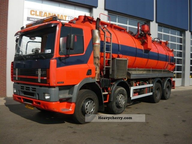 1995 DAF  FAD 85 330 Truck over 7.5t Vacuum and pressure vehicle photo