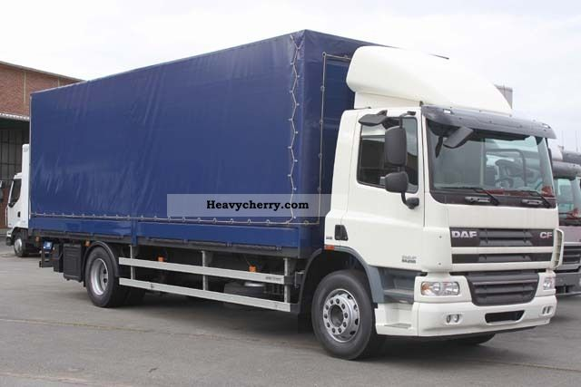 2009 DAF  CF 65.250, 7.8m LBW + 2t, 9.5t payload, € 5 Truck over 7.5t Stake body photo