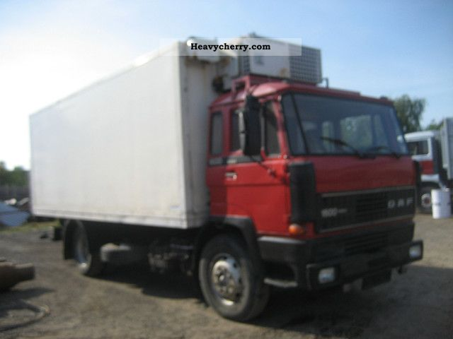 Daf 1600 1987 Refrigerator Body Truck Photo And Specs