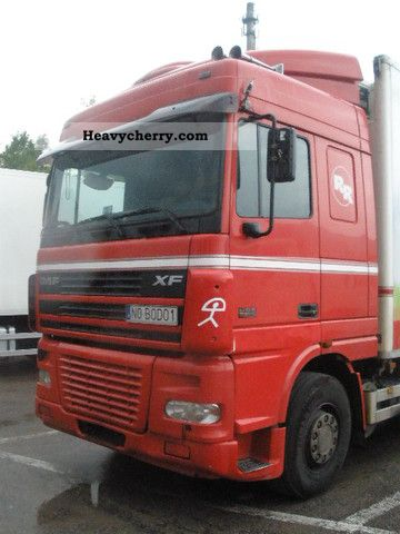 Daf 95xf480 Trailer Pacton Complete Price 2003
