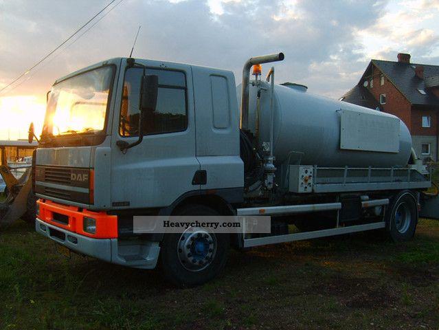 1997 DAF  AE75RC (75.240ATI) Truck over 7.5t Vacuum and pressure vehicle photo
