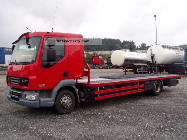 2008 DAF  LF45.180 G10 platform (Abschlepwagen) Truck over 7.5t Stake body photo