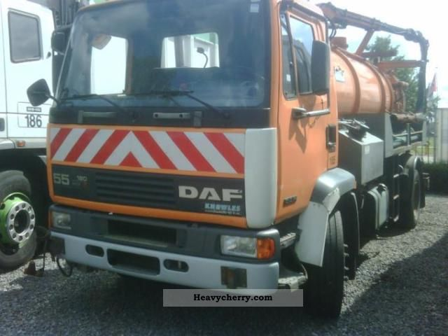 1997 DAF  55 new pump suction truck Truck over 7.5t Vacuum and pressure vehicle photo
